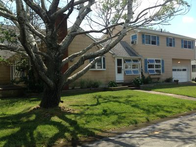Photo for Bay side 6 bedroom home in Yacht Club area of residential Beach Haven
