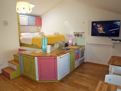 Photo for Modern and exceptional studio in the old town of Zadar, a few minutes to the sea