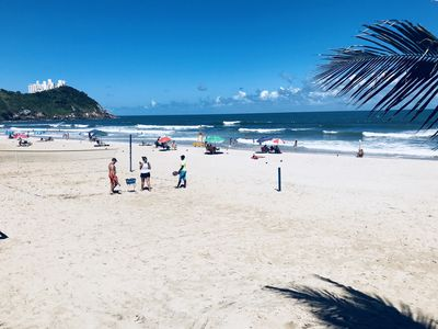 Photo for House Ground Season with 4 bedrooms and 3 suites best beach of Guarujá !!