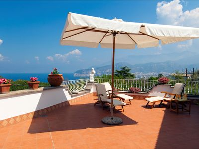 Photo for Aldo in Sorrento. 3 bedrooms artist retreat in Sorrento with sea views