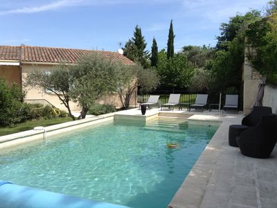 Photo for villa in the Luberon private pool not overlooked everything on foot