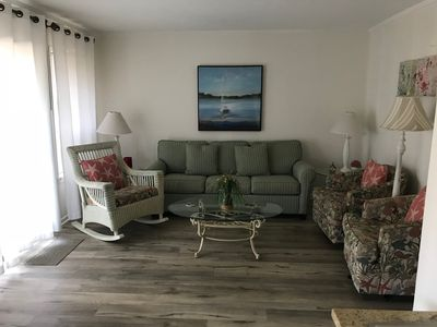 Photo for Admiral's Row First floor and 25 Yards to the Beach!!
