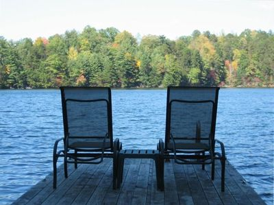 Come relax. Long, scenic views from dock or screened porch.