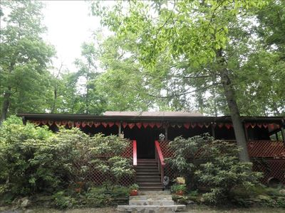 Photo for Cozy Mountain Setting 15 Minutes to Asheville and Biltmore Estates