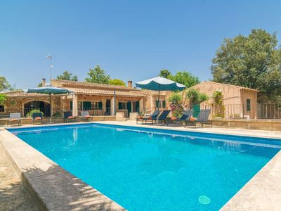 Photo for CAN MISTERO - Villa with private pool in MANACOR.