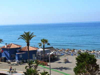 Photo for Front-line, with wonderful sea and mountain views, overlooking beautiful gardens