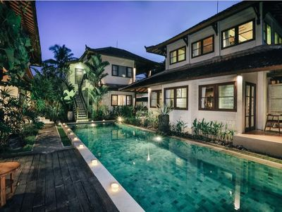 Photo for 9 Rooms for Group at Ubud