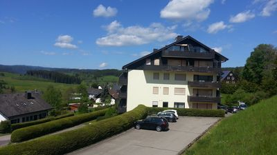 Photo for Bright comfort apartment with Wi-Fi, swimming pool, Feldbergblick (2 to 3 pers)