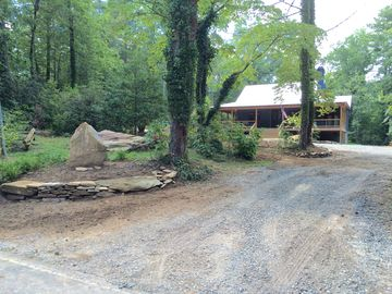 Bike,hike Dupont Forest in minutes.New, rustic cabin near Brevard, Pisgah Forest