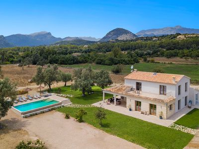 Photo for New! Welcome to our sea and mountain view comfy Country House for 8 +2 guests.