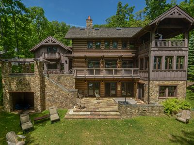 Photo for Extravagant 5 Bedroom Lakefront home offers a stunning lakefront!