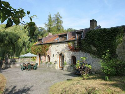 Photo for Romantic house on the grounds of the prettiest castles in Wallonia