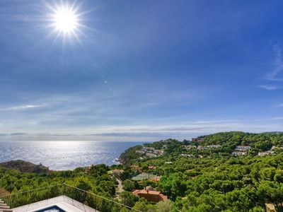 Photo for SES NEGRES - villa with sea views and private pool-Tamariu-Costa Brava