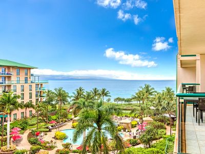 Photo for K B M Hawaii: Ocean Views, Premium Inner Courtyard 2 Bedroom, FREE car! Jan & Feb Specials From only $281!