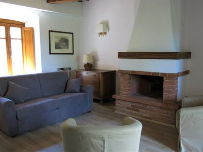 Photo for Rustic apartment in the green heart of Italy