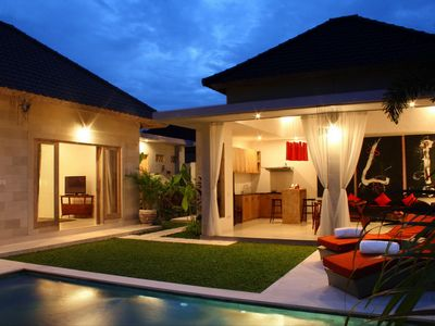 Photo for Very Modern, Beachside 2 Bedroom Villa, Batu Belig""