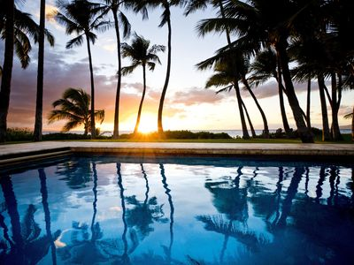 Photo for Tropical Beachfront Home - Beautiful Family Style Residence