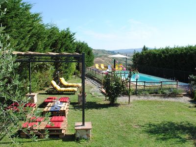 Photo for Holiday house in the middle of the Tuscan hills