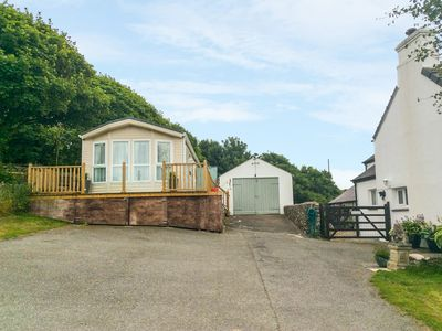 Photo for LODGE, family friendly, with hot tub in Llaneilian, Ref 981059