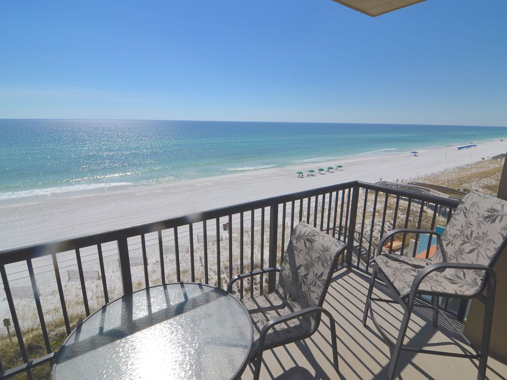 401 south beach stunning gulf sound views 401 south beach fort ft walton beach condo rental imagine your morning coffee with this view watch the solutioingenieria Image collections