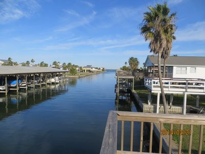 Stunning Views of the Antascosa Canal and West Galveston Bay