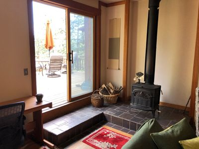 Photo for Mountain Master Suite, Private Deck and Entrance 10 min from Downtown