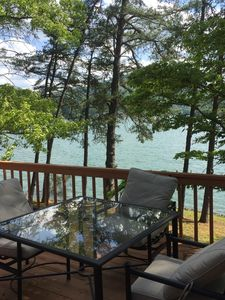 Photo for PRICE DROP/HAD CANCELLATION  Lake Front 400 ft - Private Dock - Spectacular Vie