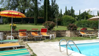 Photo for Special price Tuscany farmhouse, with  pool, A/C, WIFI,  very suitable family