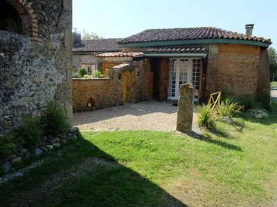 Photo for Cottage (studio) **** in the countryside - at the edge of the water - in the Landes