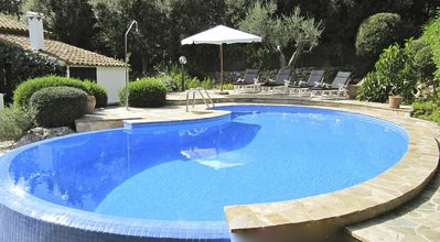 Photo for Villa in La Font, outskirts of Pollenca, Mallorca, Private Pool, Mature Garden
