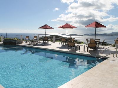 Photo for 7th Night Free!* Beautiful Townhome Villa w/Pool and Panoramic Ocean Views!