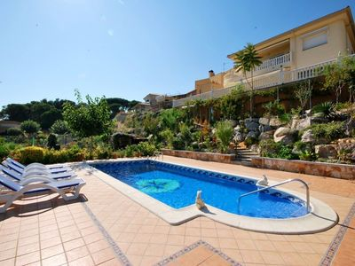 Photo for Club Villamar - This apartment is a groundfloor of a larger villa with private pool and only 1200...