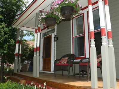 Deadwood's Old Front Porch, As featured In Destination Deadwood Magazine