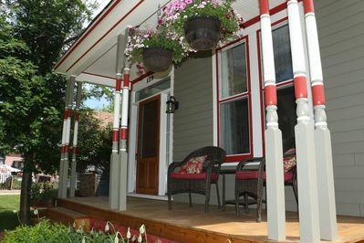 THE OLD FRONT PORCH