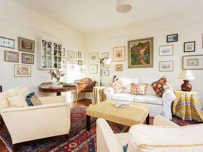 Photo for Traditional apartment in the utterly beautiful and exclusive Kensington (Veeve)