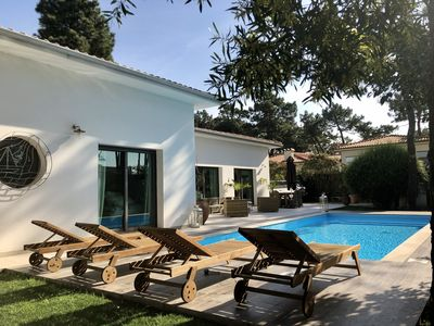 Photo for Beautiful Villa near Porto with private pool 50 meters from a sandy beach