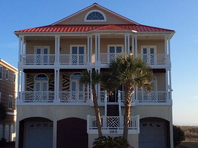 Photo for Beautiful Oceanfront home, 6 bedrooms 5 1/2 baths, Private Oceanfront Pool