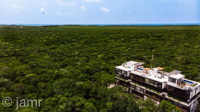 Photo for Mayan ruins view, Lux, exclusive, zen, new, cozy entire apartment