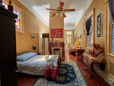 Photo for Private Spacious Suite with historic charm steps from Magazine Street