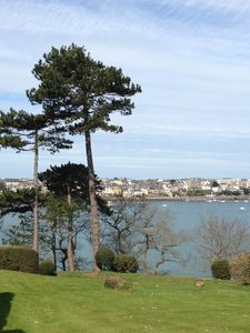 Photo for Apartment with stunning views over the bay and private beach of Dinard