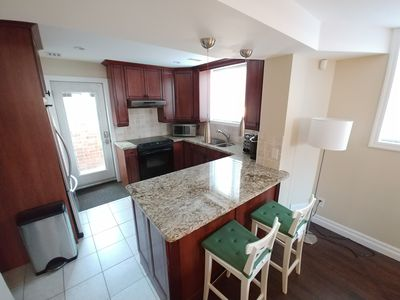 Photo for Luxury 1 Bedroom with Office and Ensuite Laundry.