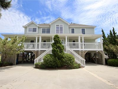 Photo for #CL807: Reduced Rates! PartOCEANVIEW Home in Corolla w/PRVTPool & HotTub, DogFriendly
