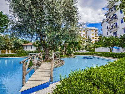 Photo for Studio Apartment Cuore with Air Conditioning, Private Balcony and Shared Pool