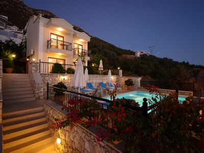 Photo for Luxury Stylish Villa with Private Heated Pool and Stunning Views of Kalkan Bay
