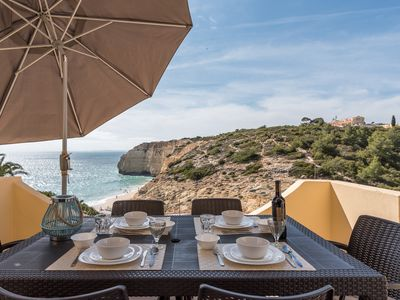 Photo for Apartment on the beach in Centeanes-Carvoeiro 3MB