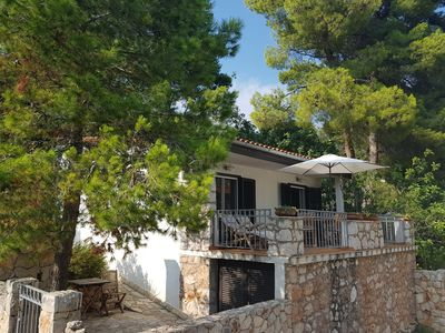 Photo for Villa Mala is a charming small holiday house 50 m away from beautiful beach.