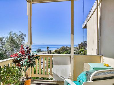 Photo for 2BR Breezy Summerland Home with Pacific Views