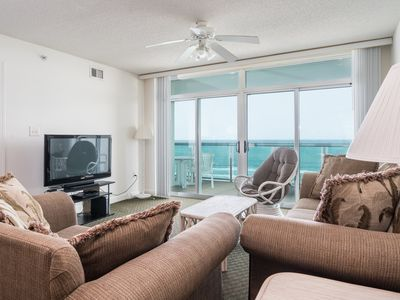 Photo for Beautifully appointed 3-bedroom overlooking Crescent Beach! | Crescent Keyes -  605
