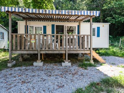 Photo for Camping Le Pré Cathare *** - Mobilhome for 6 People