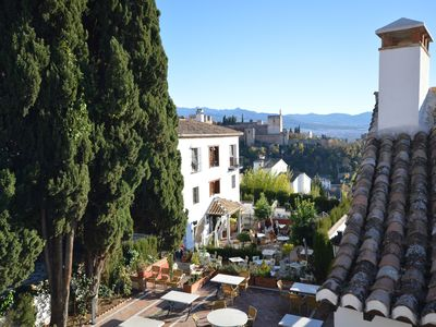 Photo for Beautiful and historical cozy house with views in Granada Alhambra / Albayzin